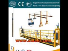 Electric Cradle/swing stage/Suspended Platform/Gondola