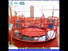 Electric Crane Basket Suspended Working Platform