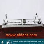 electric suspended cradle system building steel floor suspended platform