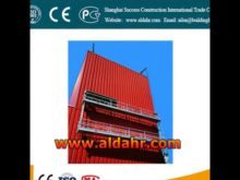 Electric Suspended Scaffold / Gondola / Electric Cradle/ Cradle / Suspended Platform