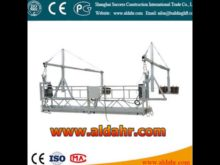 facade cleaning equipment 5m length hoist suspended platform Factory