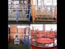 Factory Parapet Clamp Suspended Platform