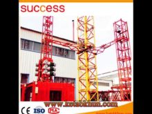 Factory Price Sc200 1 3m Cage Construction Hoist, Building Lifter