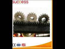 Factory Price Steel Caster Helical Teeth, Gear Rack And Pinion