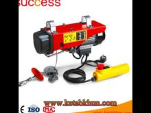Flat Top 6t Crane With 55m Jib Electric Motor Hoist Machine Hydraulic