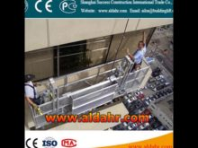 floating scaffold ZLP800 hoist suspended platform Factory