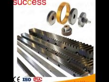 Forging Machine Gears/Pinion Gears Ring For Concrete Mixer & Crown Gear Wheels Gear