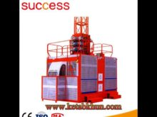 Frequency Converter Elevator Hoist Material and Construction Equipment Machinery for Passengers