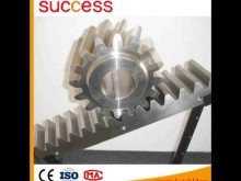 G60,S45,S43 Steel Material Rack And Pinion