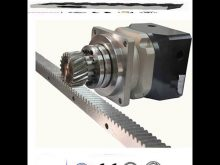 Gear Rack And Pinion For Construction Hoist,Spare Parts Of Hoist Safety Device