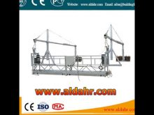 Good for decoration Anti tilt safety lock rope suspended platform