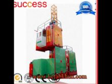 Good Price Good Quality Double Cages Ce Iso Gost Approved Construction Hoist
