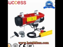 Good Sale Double Cage Construction Lift Hoist