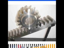 Granding Teeth Straight Teeth C45 Precision Rack Gears