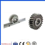 Helical Gear Cylindrical Gear, 2 Mode 36 Tooth  59 Tooth Thickness 20mm, 45 Steel, Rack