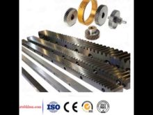 Helical Gear Racks And Pinions / Brass Rack Pinion / Crown And Pinion Gear