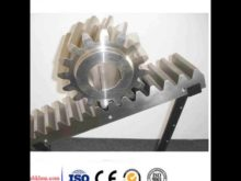 Helical Rack And Pinion / High Precision Helical Teeth Gear Rack / Helical Gear 1 25m