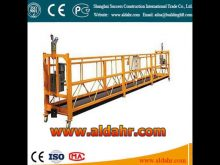high operating scaffolding lift zlp suspended platform