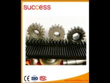 High Precesion 20 Degree Helical Angle Alloy Steel Rack Gears