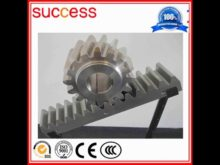 High Precision 40cr Steel Cnc Gear Rack And Pinion
