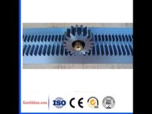High Precision Cnc Machined Steel Rack And Pinion Gears