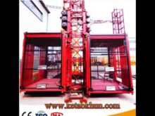 High Quality Electric Hydraulic Lift With Ce Certification,Good Price For Sc200/200construction Lift