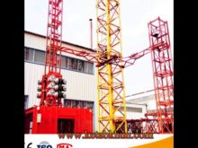 High Quality Sc200 2 Ton Double Cages Construction Hoist For Sale