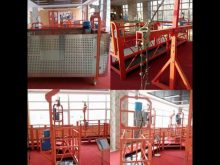 High Safety Cable Suspended Platform