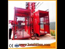 High Safety Coefficient Construction Elevator Hoist Lifter