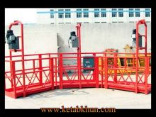 High Safety Scaffolds Suspended Platform Zlp800 7 5m