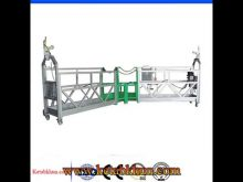 High Safety Zlp800 Steel Powered Suspended Platform
