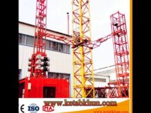 Hoist Made in China by Success Qtz6024 Crane