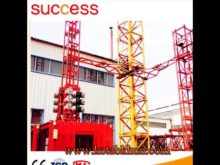 Hoisting Speed 32 14/15 60/3 5 M/Min, Tower Crane In