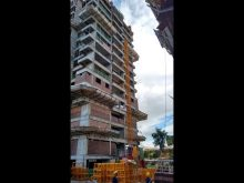 How to Install the Construction Elevator,Construction Hoist,Building Hoist Installation Video