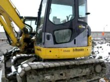 Komatsu PC 78MR walk around
