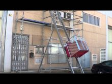 ladder hoist  montemateriaux