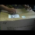 Liebherr LR1300 derrick kit unboxing