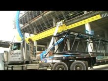 Liebherr lr1400 disassembly #1