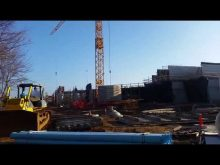 Liebherr self erecting tower crane