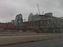 Louisville downtown arena progress 12/7/09