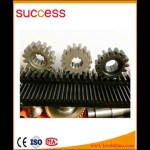 M2 Steel Helical Gear With Rack