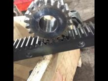 M4 22*22*1998 Steel Gear Rack For Sliding Gate