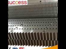 M6 60×60 Gear Rack Cnc Steel Gear Rack