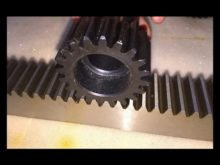 Metal Material Helical Gear With Rack
