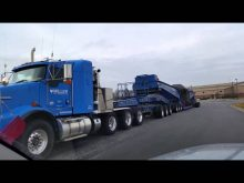 Miller Transfer Kenworth T800w with 3x3x3x3x3