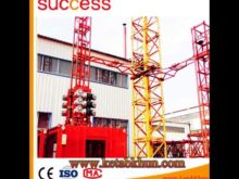 Motor Hoist Lifting Elevator Tower Crane