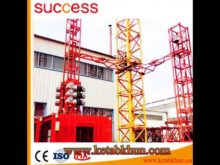 Motor Hoist Rail Machine Construction Tower Crane 4t
