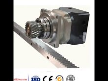 Motorcycle Engine Parts Spur Rack Gear / Clindrical Pinion Gear