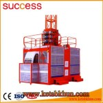 Multifunctional 1 4t Wire Construction Building Hoist