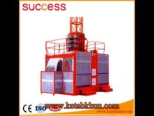 Multifunctional 1 4t Wire Hoist / Sc200/200f Building Elevator With Ce